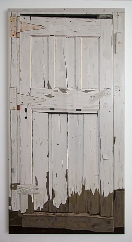 woodshed (door) by josephine halvorson
