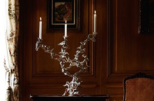 3 branches candelabra by daniel hourde