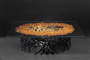 coffee table by daniel hourde