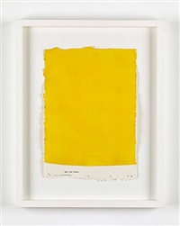 untitled (yellow curve, men and women) 12.7.02 by david austen