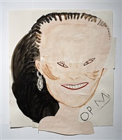 chinese daughter (one of seven) by rose wylie