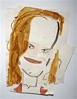 cannes film festival (n.k.) by rose wylie