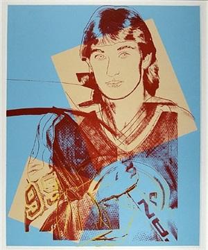 wayne gretsky #99 by andy warhol