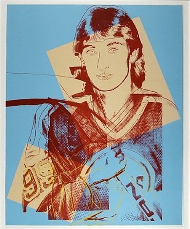 wayne gretsky #99 by andy warhol