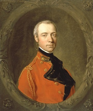 portrait of charles hamilton by thomas gainsborough