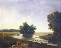 on hounslow heath by richard wilson