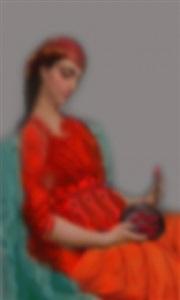 "untitled 10 (from the series ""king's harem"") by halim al-karim"