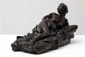 reclining figure by aimé jules dalou