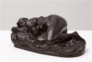 sleeping female figure by jean-baptiste carpeaux