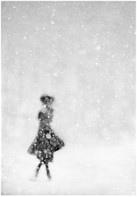 in the snow iv by donata wenders