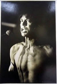 mick jagger by peter beard