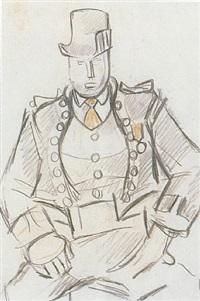 the coachman by rafael barradas