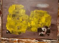 fantasy in yellow by john ward lockwood