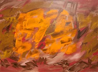 yellow on pink by john ward lockwood