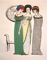 les robes de paul poiret by paul iribe