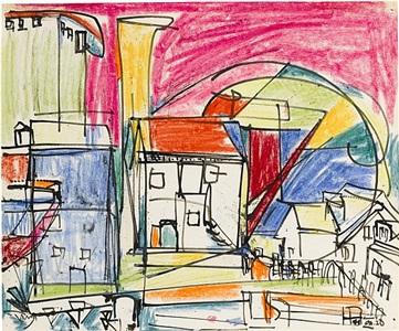 untitled (provincetown) by hans hofmann