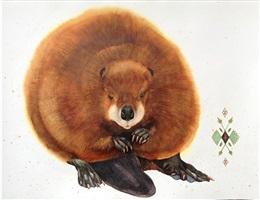 north american beaver by scott kelley