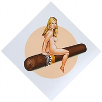 cohiba tobacco girl by mel ramos