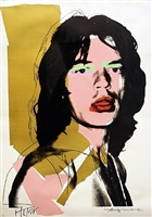mick jagger fs ii.143 by andy warhol