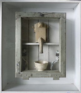 die schüssel (figurine) by jürgen brodwolf