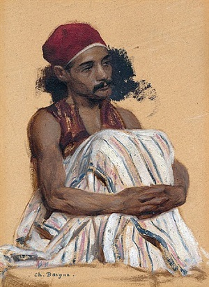 study of an arnaut by charles bargue