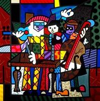spanish sensation by romero britto