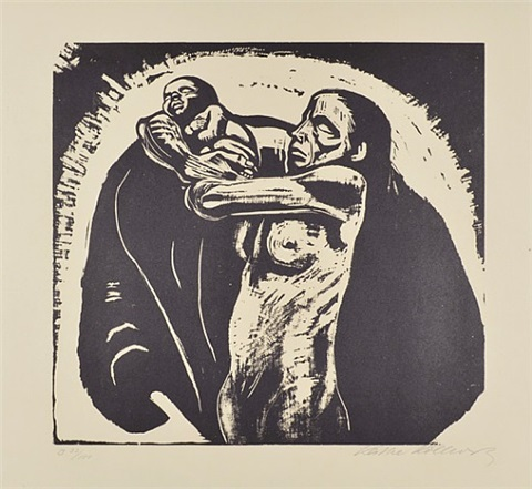 the sacrifice by käthe kollwitz