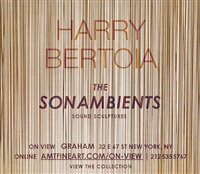 exhibition invitation by harry bertoia