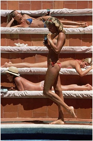catherine wilke by slim aarons