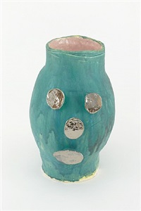 untitled ceramic facepot #3 by dan mccarthy