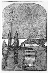 mas de graviers landscape b by robert fry
