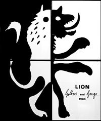 lion by gilbert and george