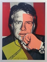 jimmy carter i fs. ii.150 by andy warhol