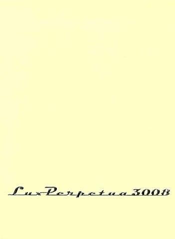 katalog: martin denker 'lux perpetua 3008' by martin denker