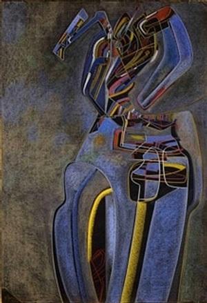 metaphysical bust by mihail chemiakin