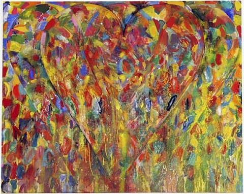 mister 3 hearts by jim dine