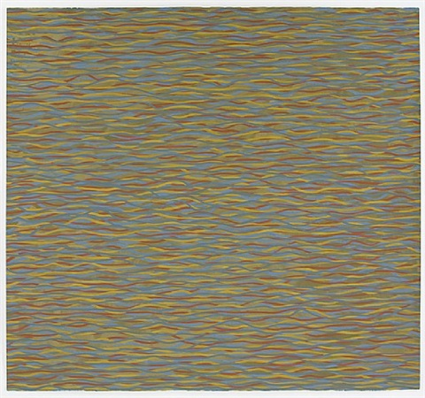 horizontal brushtrokes by sol lewitt