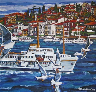 galip ozgoren paintings by galip özgören