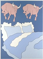 bulls and bed by john wesley