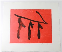 rite of passage i by robert motherwell