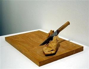 chopping block by juan muñoz