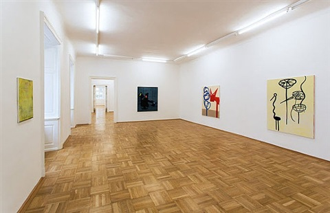 exhibtion view <br /> galerie nächst st. stephan by walter swennen