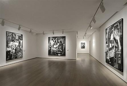 emilio vedova de america. paintings 1976-1977 by emilio vedova