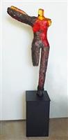 copper figure by steven maslach