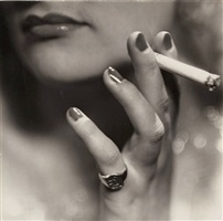 cigarette advertising by laure albin-guillot