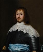 portrait of colonel edward cornewall (1613 – 1708) by cornelis jonson van ceulen