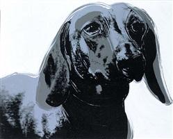 dachshund (archie) by andy warhol