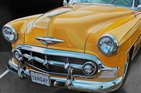 yellow chevy by cheryl kelley