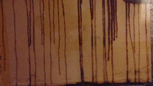 darkening lines by helene aylon