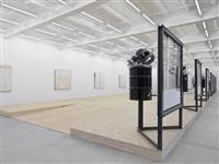 a home, exhibition view i by oscar tuazon